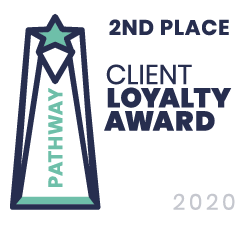 WC Burgess Insurance Services is Pathway's 2nd Place Loyalty Award Winner